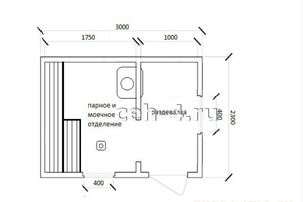 Баня мобильная БМ-3