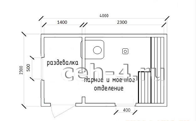 Баня мобильная БМ-4